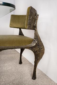 Paul Evans Paul Evans Dining Set in Sculpted Bronze 1969 - 1635535
