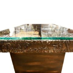 Paul Evans Paul Evans Important and Rare Welded Coffee Table 1973 signed and dated  - 463767