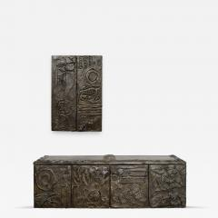 Paul Evans Paul Evans Matched Pair Of Floating Cabinets Signed 1971 - 234328