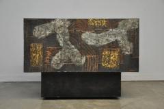 Paul Evans Paul Evans Mixed Metal Sideboard Cabinet - 428673