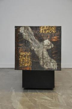Paul Evans Paul Evans Mixed Metal Sideboard Cabinet - 428674