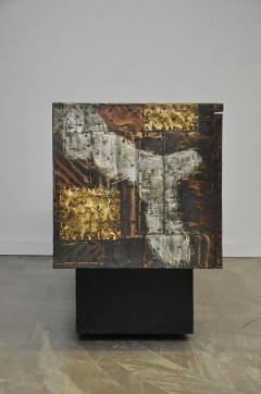 Paul Evans Paul Evans Mixed Metal Sideboard Cabinet - 428675