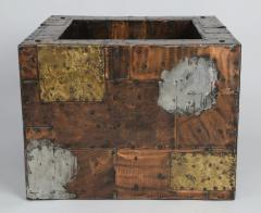 Paul Evans Paul Evans Pewter Brass and Copper Patchwork Cocktail Table Circa 1970s - 483170