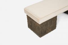 Paul Evans Paul Evans Sculpted Bronze Bench - 1102155