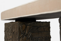 Paul Evans Paul Evans Sculpted Bronze Bench - 1102158