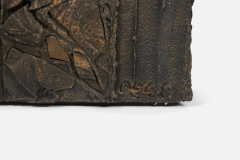 Paul Evans Paul Evans Sculpted Bronze Bench - 1102159