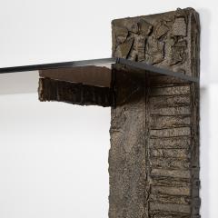 Paul Evans Paul Evans Sculpted Metal shelving unit 1974 - 1151873