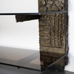 Paul Evans Paul Evans Sculpted Metal shelving unit 1974 - 1151874