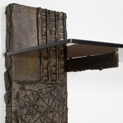 Paul Evans Paul Evans Sculpted Metal shelving unit 1974 - 1151880