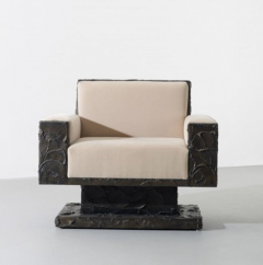 Paul Evans Paul Evans Studio Sculpted Bronze Armchair - 537628