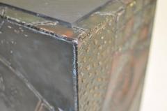 Paul Evans Paul Evans Welded Steel Cube Table - 352204