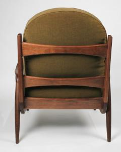 Paul Evans Phillip Lloyd Powell New Hope Lounge Chair from Phillip Lloyd Powell Studio in American Black Walnut - 1004728