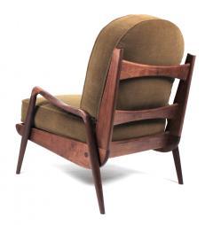 Paul Evans Phillip Lloyd Powell New Hope Lounge Chair from Phillip Lloyd Powell Studio in American Black Walnut - 1004730
