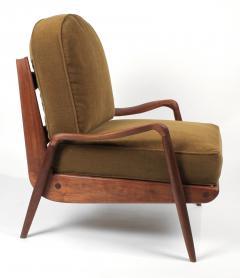 Paul Evans Phillip Lloyd Powell New Hope Lounge Chair from Phillip Lloyd Powell Studio in American Black Walnut - 1004731