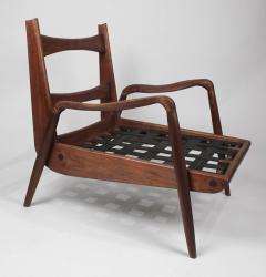Paul Evans Phillip Lloyd Powell New Hope Lounge Chair from Phillip Lloyd Powell Studio in American Black Walnut - 1004733