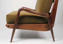 Paul Evans Phillip Lloyd Powell New Hope Lounge Chair from Phillip Lloyd Powell Studio in American Black Walnut - 1004734