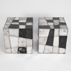 Paul Evans Rare Pair of Paul Evans Argente Side Tables Circa 1960s - 1063703