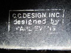 Paul Evans Rare Set of Signed Paul Evans Desk Accessories Lighter Mid century Modern - 1877339