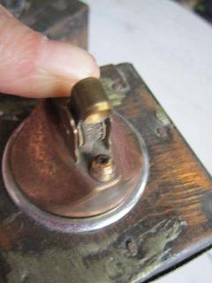 Paul Evans Rare Set of Signed Paul Evans Desk Accessories Lighter Mid century Modern - 1877358