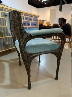 Paul Evans Rare sculpted bronze armchair by Paul Evans for Directional - 1723359