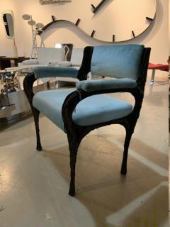 Paul Evans Rare sculpted bronze armchair by Paul Evans for Directional - 1723360