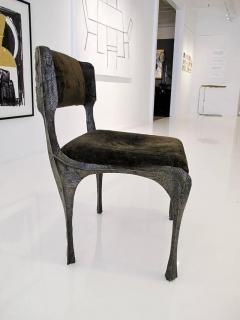 Paul Evans Sculpted Bronze Chair By Paul Evans   340403