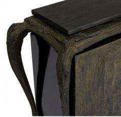 Paul Evans Sculpted Bronze Console Table and Cabinet by Paul Evans - 1876282