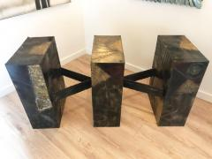 Paul Evans Sculpted Metal Dining Table by Paul Evans for Directional - 1307822