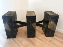 Paul Evans Sculpted Metal Dining Table by Paul Evans for Directional - 1307827