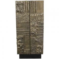 Paul Evans Sculpted and patinated bronze cabinet by Paul Evans - 762963