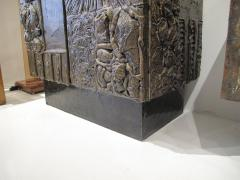 Paul Evans Sculpted and patinated bronze cabinet by Paul Evans - 762967