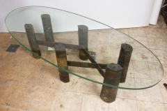 Paul Evans Six Legged Welded Metal Coffee Table By Paul Evans - Welded coffee table