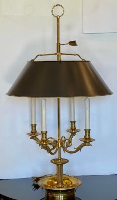 Paul Ferrante Large Paul Ferrante French Gilt Bronze Four Light Bouillotte Griffin Table Lamp - 2029688