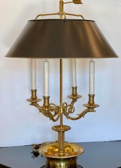 Paul Ferrante Large Paul Ferrante French Gilt Bronze Four Light Bouillotte Griffin Table Lamp - 2029692