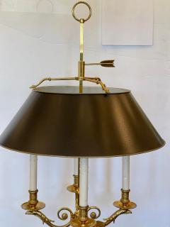 Paul Ferrante Large Paul Ferrante French Gilt Bronze Four Light Bouillotte Griffin Table Lamp - 2029697