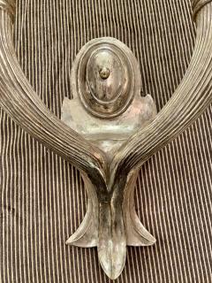 Paul Ferrante Paul Ferrante Art Deco Giltwood 2 Arm Wall Light Sconces a Pair - 2067893