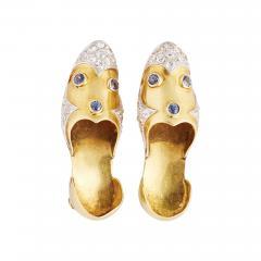 Paul Flato Retro Paul Flato Shoe Clips - 195278