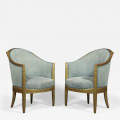 Paul Follot A Pair Of Art Deco Giltwood Berg res Attributed To Paul Follot 1877 1841  - 1500364