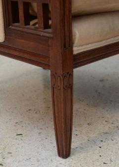 Paul Follot Fine Pair of French Art Deco Mahogany Chairs Paul Follot - 358247
