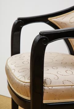 Paul Follot Pair of Ebonized Chairs by Paul Follot - 787366