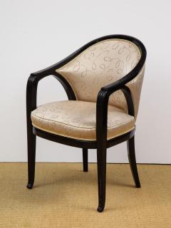 Paul Follot Pair of Ebonized Chairs by Paul Follot - 787367