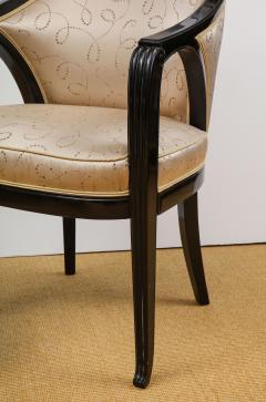 Paul Follot Pair of Ebonized Chairs by Paul Follot - 787368