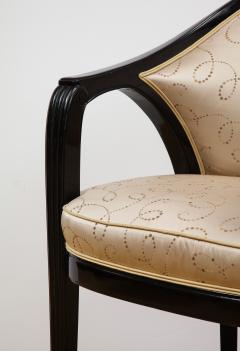 Paul Follot Pair of Ebonized Chairs by Paul Follot - 787369