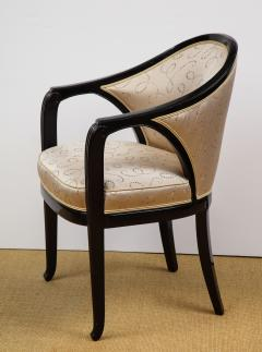 Paul Follot Pair of Ebonized Chairs by Paul Follot - 787377