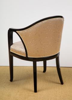 Paul Follot Pair of Ebonized Chairs by Paul Follot - 787378