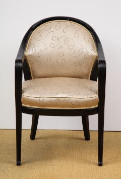 Paul Follot Pair of Ebonized Chairs by Paul Follot - 787381
