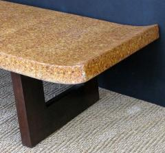 Paul Frankl Asian Inspired Paul Frankl for Johnson Furniture Cork Top Bench or Low Table - 458517
