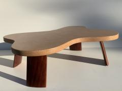 Paul Frankl Cloud Cork and Mahogany Coffee Table - 1161081