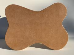 Paul Frankl Cloud Cork and Mahogany Coffee Table - 1161089