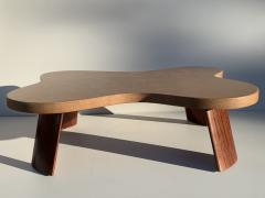 Paul Frankl Cloud Cork and Mahogany Coffee Table - 1161112